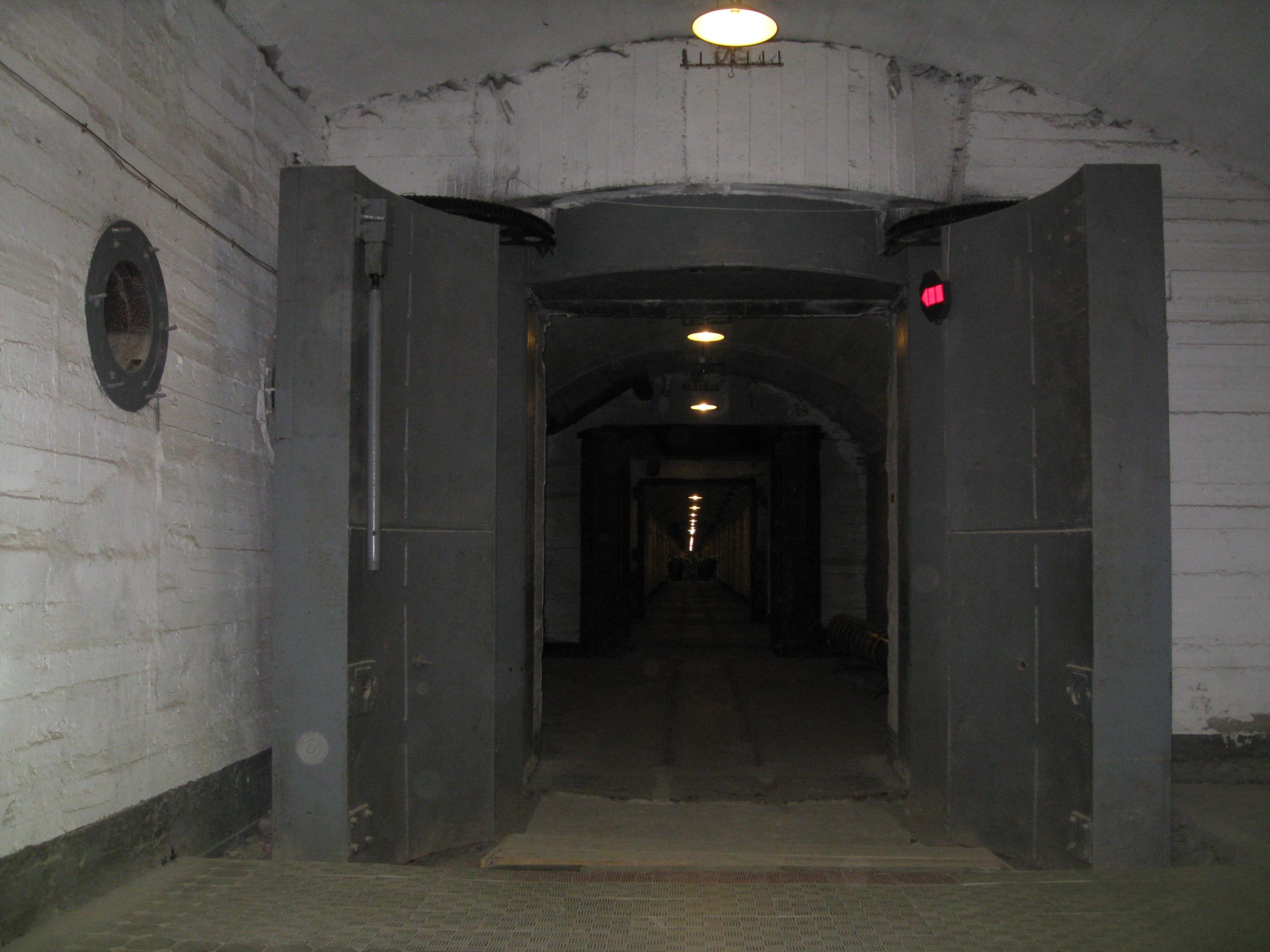thick blast doors