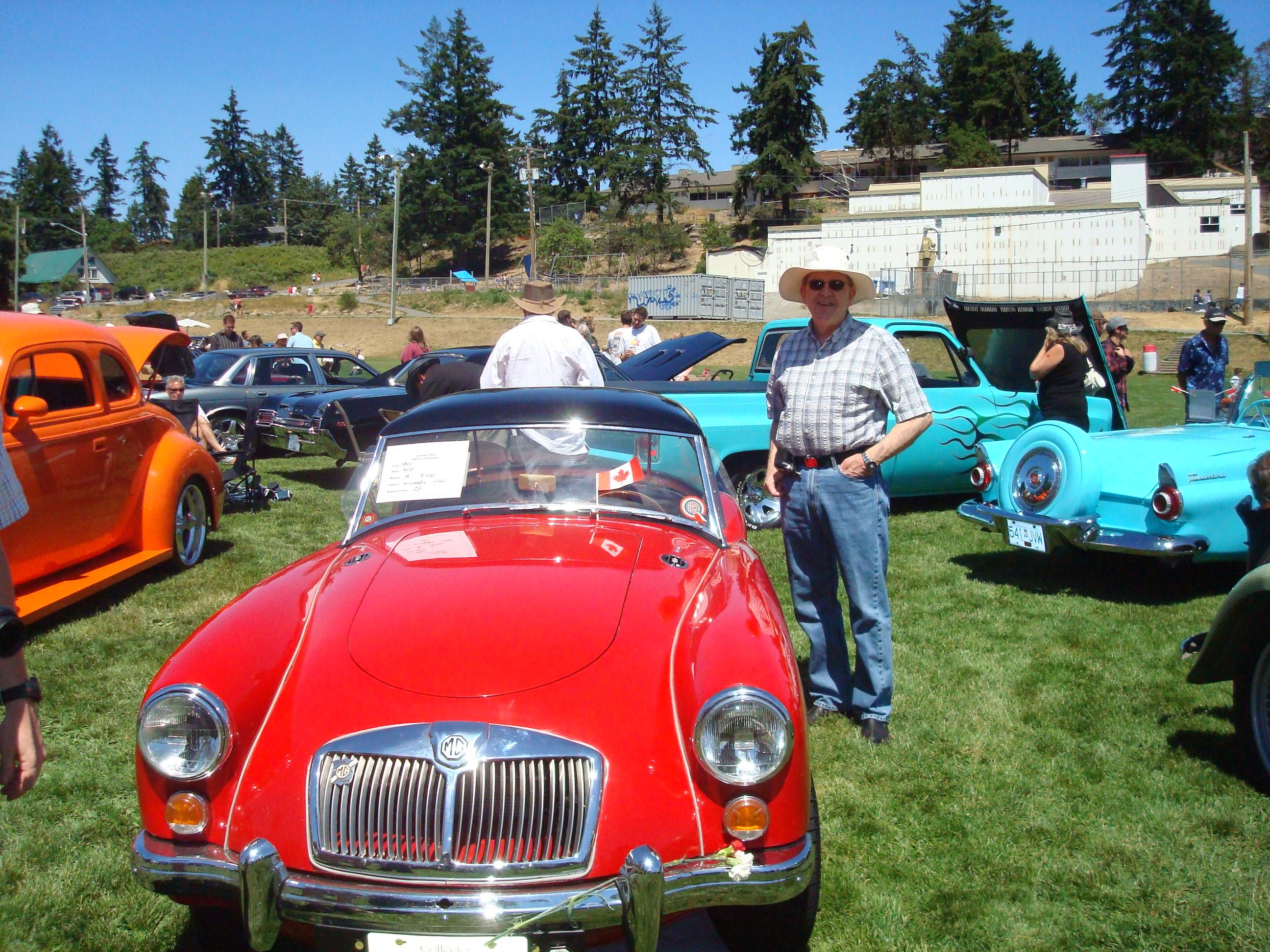 Salt Spring Island Car Show