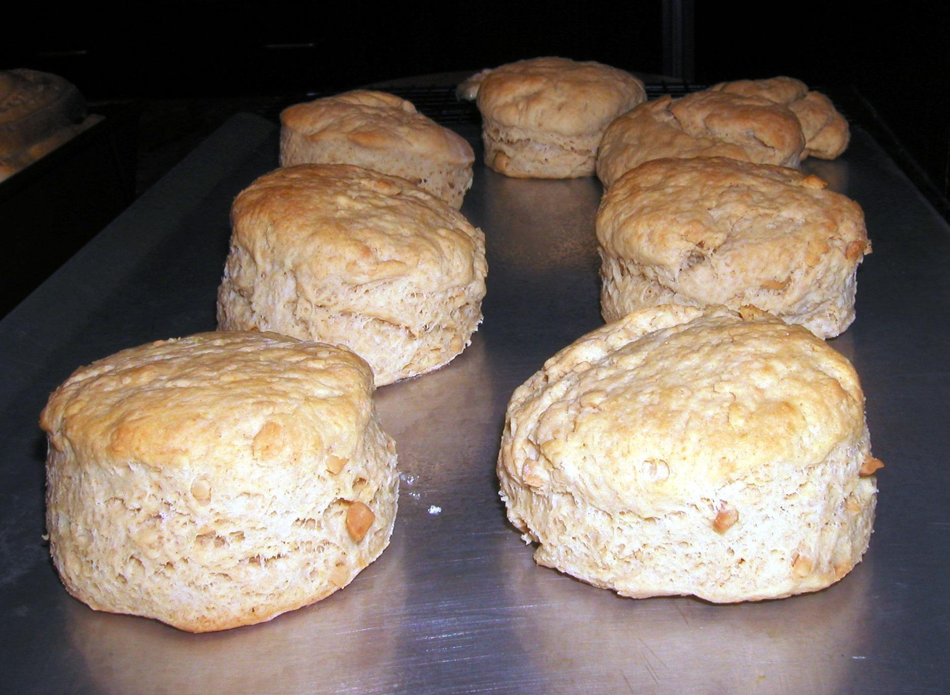 Peanut Butter Tea Biscuits
