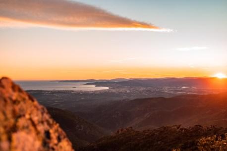 Vue du Mont Vinaigre, Fréjus