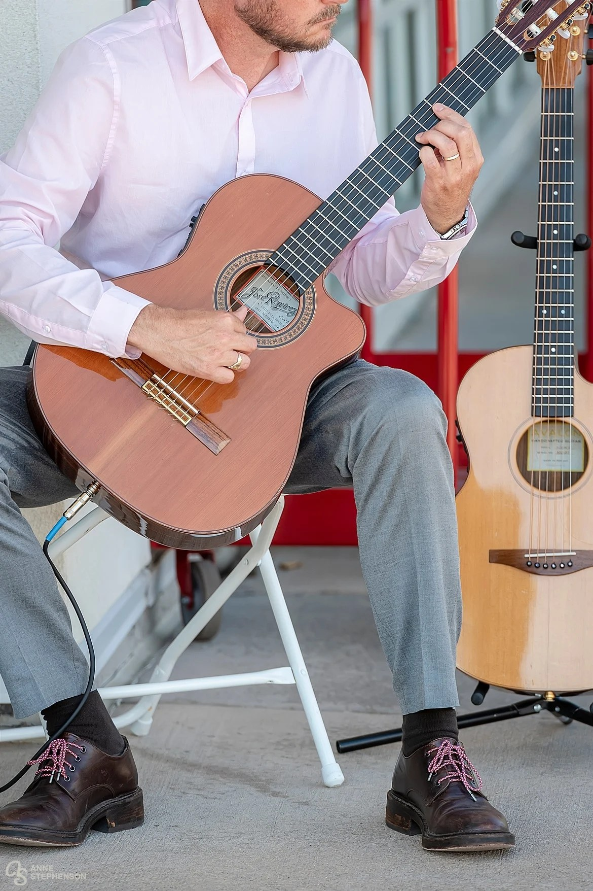 Guitar music performed by musician Michael Lancaster.