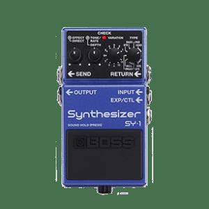 boss sy-1 guitar pedal