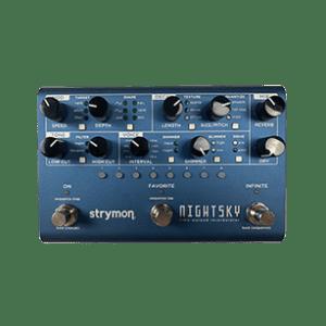 Strymon night sky guitar pedal