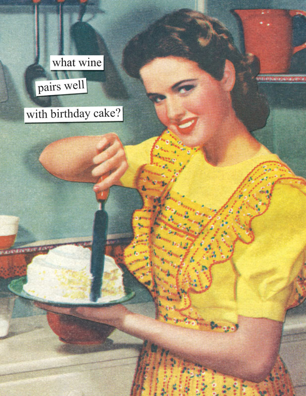 Anne Taintor Happy Birthday Greeting Card Heavy Machinery