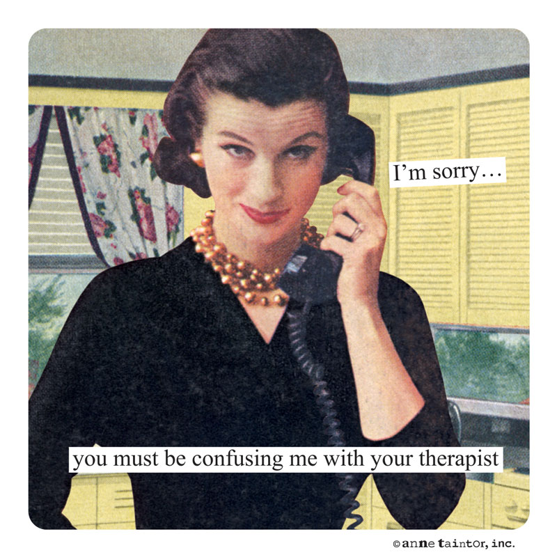 Amazon Com Anne Taintor Happy Birthday Greeting Card You Be