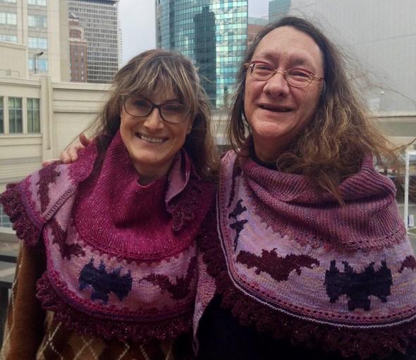 Battina shawls