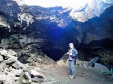 Caving on Easter Island