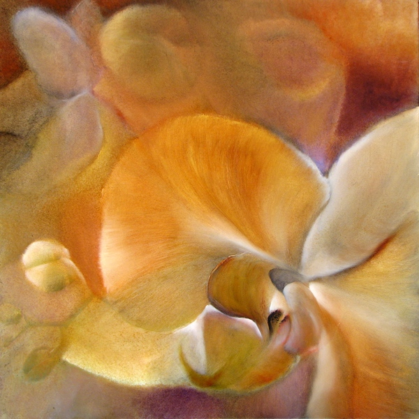 painting of orchid
