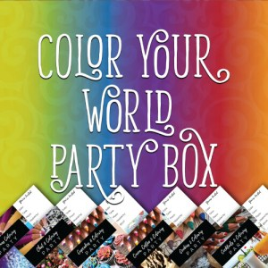 Color Your World Party Box