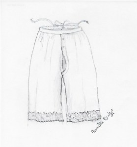 Pantaloon Sketch
