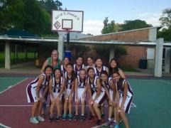 My basketball team.