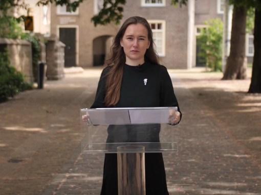 Voordracht 75 jaar vrijheid Delft