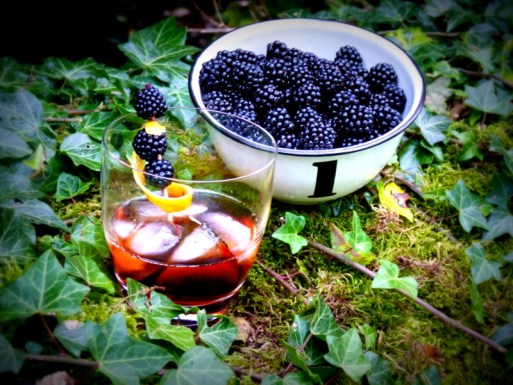 Slamseys Blackberry Gin