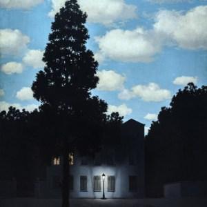 "L'Empire des Lumieres"" (""Empire of Light""), by  René Magritte"
