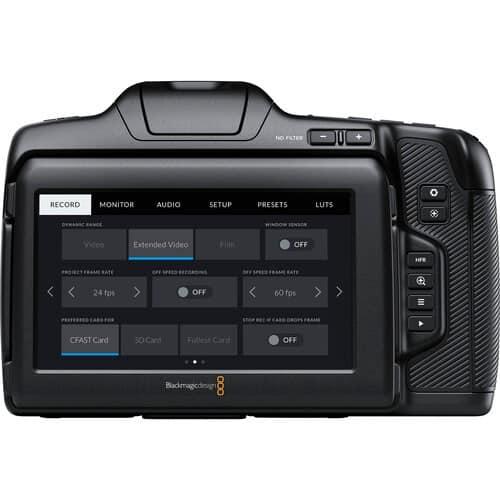 BMD Pocket Camera Cinema Pro 6k
