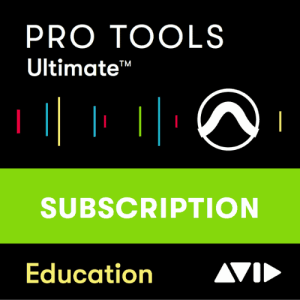 AVID Pro Tools Ultimate 1-Year Subscription Academic