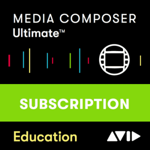 AVID Media Composer Ultimate 1-Year Subscription