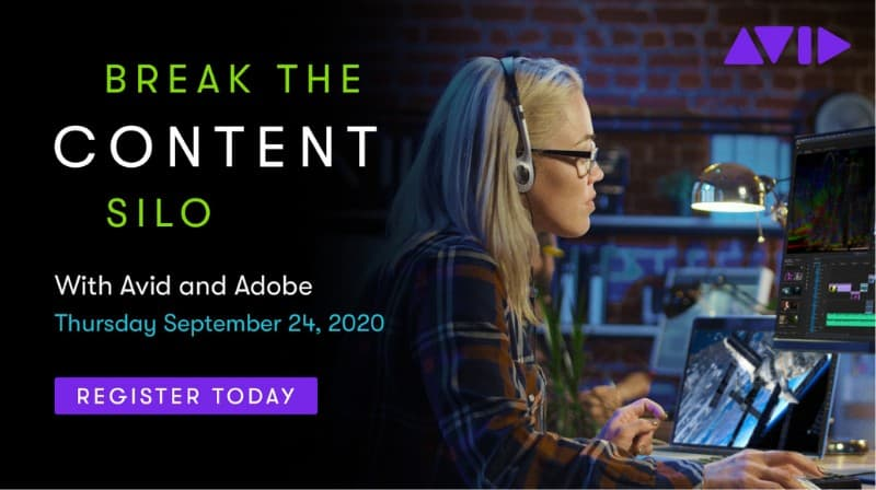 Avid and Adobe Webinar - Break the Content Silo with MediaCentral and Premiere Pro