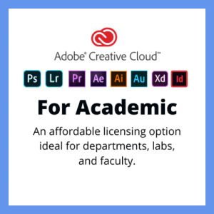 Adobe Creative Cloud Academic and Education Subscription Canada
