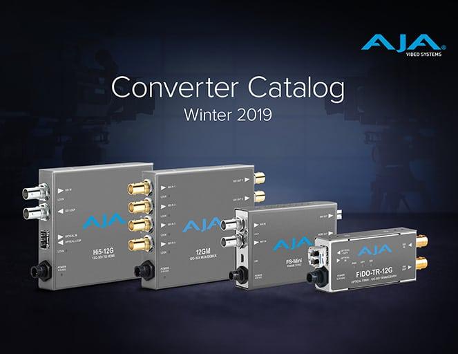 AJA Converter Catalog