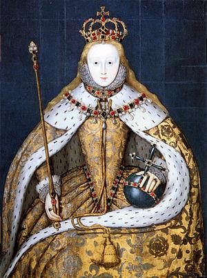 queen elizabeth i coronation portrait