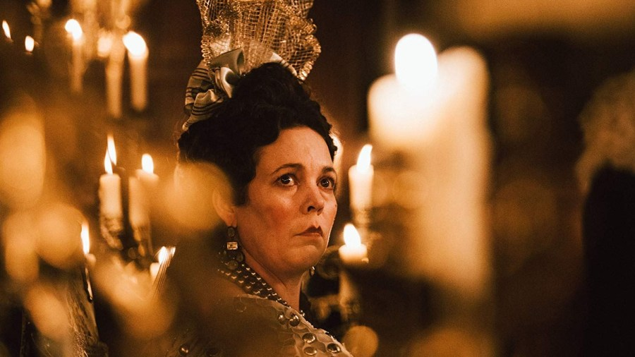 Olivia Colman as Queen Anne I in The Favourite