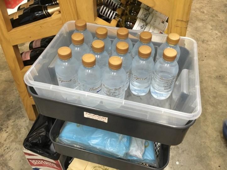 お水のサービス