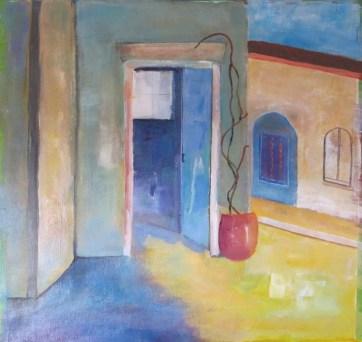 First Painting, Soreze, 2014