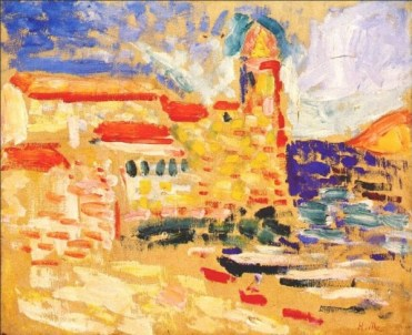 View_of_Collioure_(The_Bell_Tower)_Henri Matisse, 1905