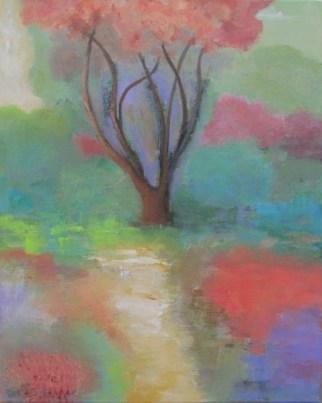 Ann Hart Marquis, Sense of Place, acrylic on canvas
