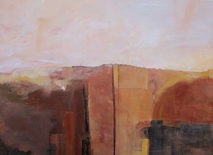 Ann Hart Marquis-New Mexico II- abstraction