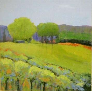Ann Hart Marquis-Chalk Hill Ridge-sonoma county paintings
