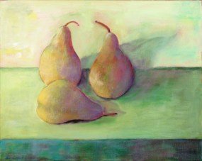 painting a pear in France