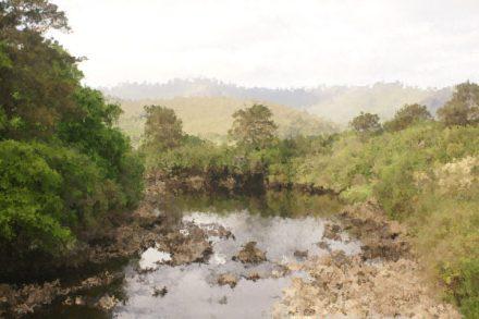 Irish Waterfall by Tim Anderson, edited