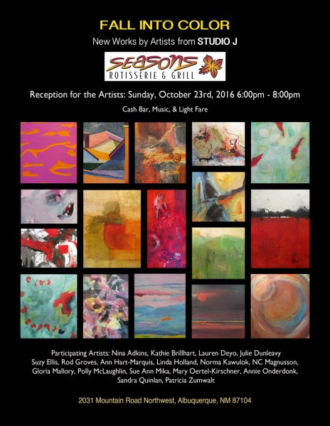 Artist reception from Studio J.