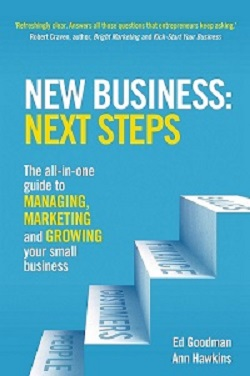 Front cover of book New Business:Next Steps