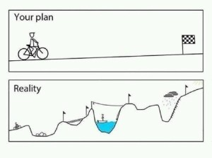 Plans and real life