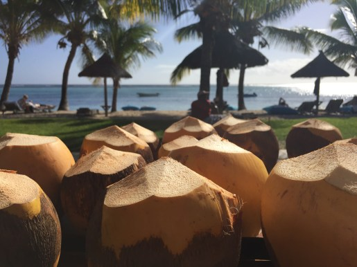 One coconut a day...