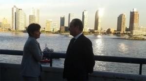 François Hollande & Annick Girardin