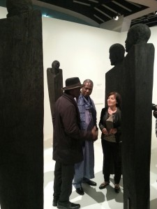 Avec Maurice Bandaman et Koko Bi