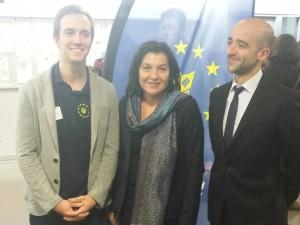 Avec Guillaume Divet et Aurélien Raccah