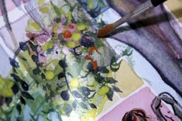 cours de dessin peinture art appliqué nimes