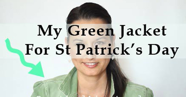 saint patricks day green jacket