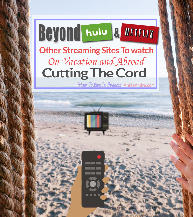 beyond hulu or Netflix. 60 plus sites that are just as good or better. Cutting the cord
