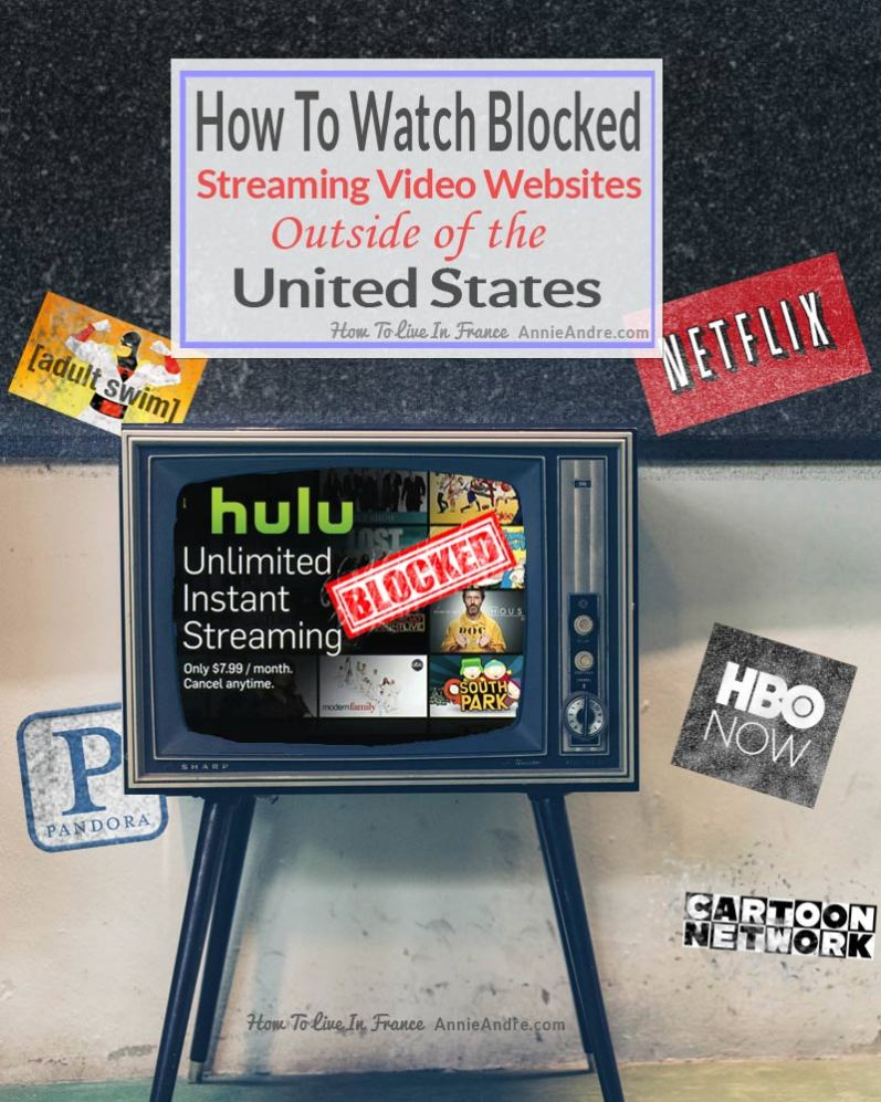 FB how to watch streaming video outside of the united states