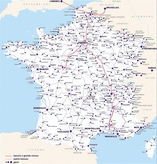 French railway considered to be the best in the world makes it easy for tourists