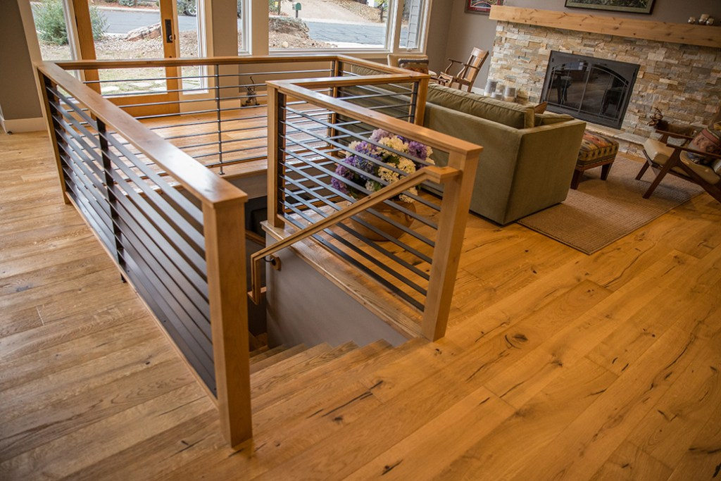 Web Design for General Contractor – Detail of railing