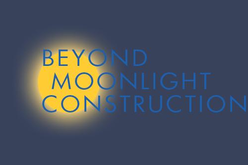 Web Design – Beyond Moonlight Construction logo design