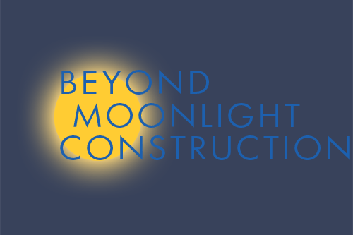 Web Design – Beyond Moonlight Construction logo design