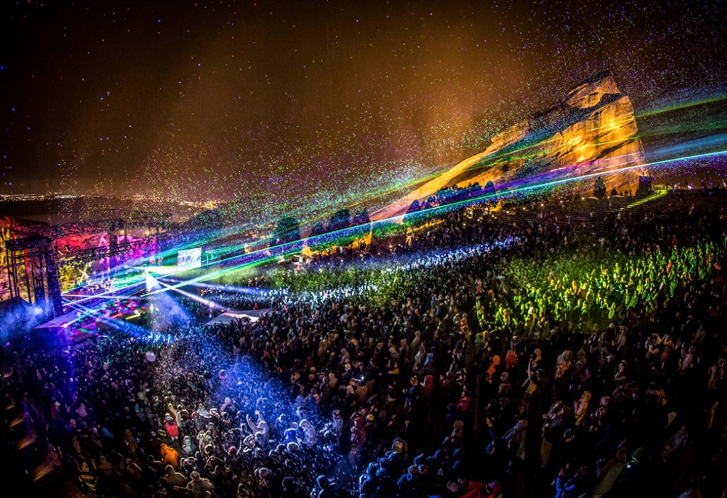 Website build. Red Rocks Amphitheater.